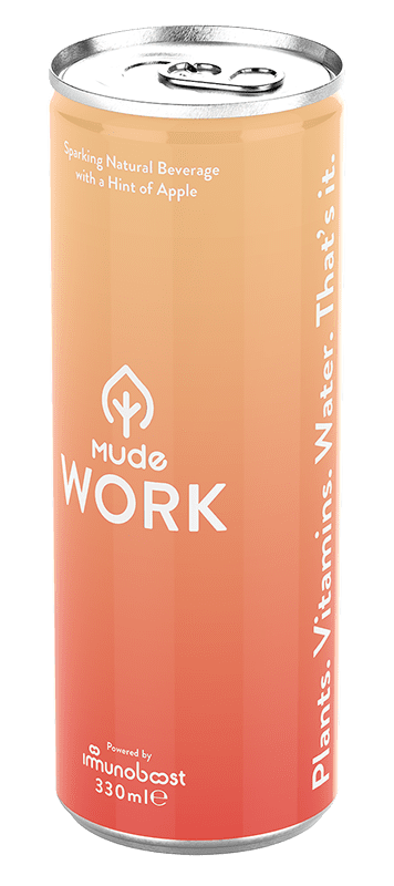 Mude Work can front