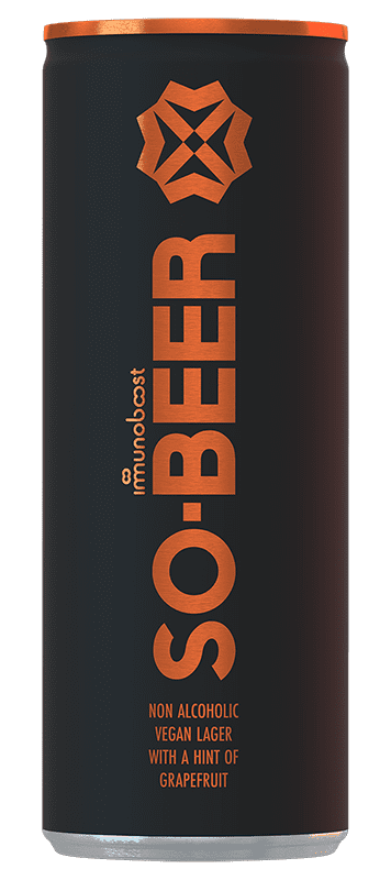 So.Beer Grapefruit can from front